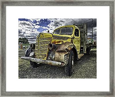 Needs New Headlights Framed Print