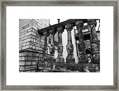Needs Some Work Framed Print by John Rizzuto
