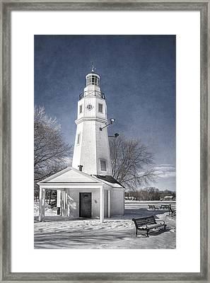 Neenah Lighthouse Framed Print
