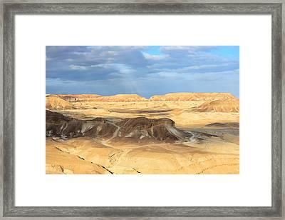 Negev Desert  Framed Print