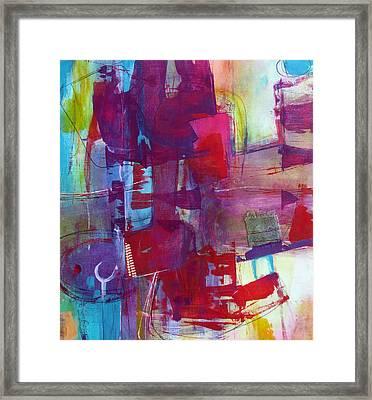 Negotiate Framed Print by Katie Black