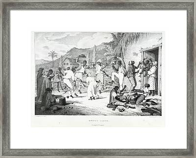 Negro Dance Framed Print