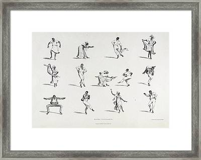 Negro Figuranti Framed Print by British Library