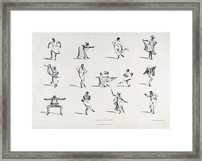 Negro Figuranti Framed Print by British Library