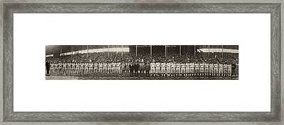 Negro Leagues, 1924 Framed Print