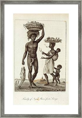 Negro Slaves Framed Print by British Library