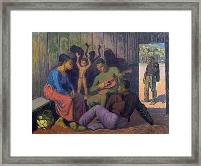 Negro Spritual, 1959 Framed Print by Osmund Caine