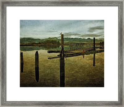 Nehalem Bay Reflections Framed Print