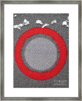 Cible / Target Framed Print by Dominique Fortier