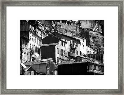 Neighborhood Living Framed Print by John Rizzuto