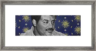 Neil Degrasse Tyson Framed Print by Simon Kregar
