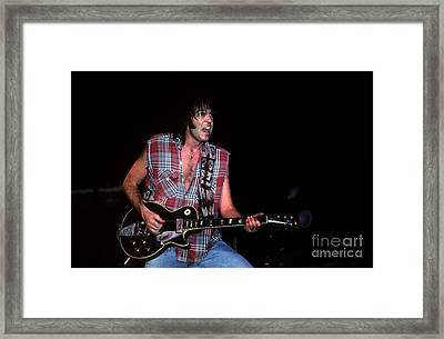 Neil Young 2 Framed Print by David Plastik