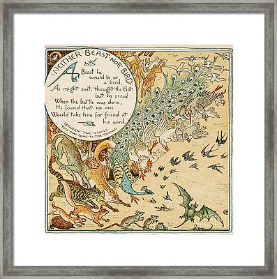 Neither Beast Nor Bird Framed Print by Pg Reproductions