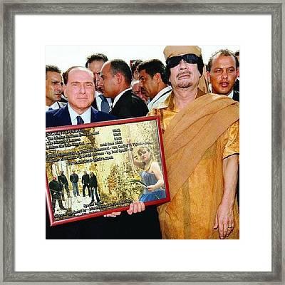Nejvyšší Vyznamenání :-) Framed Print