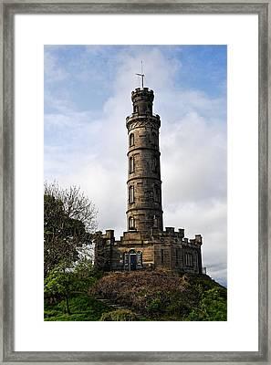 Nelson Monument Framed Print