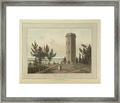Nelson's Tower At Forres Framed Print