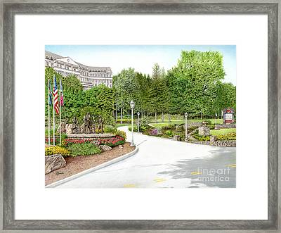 Nemacolin Woodlands Framed Print by Albert Puskaric