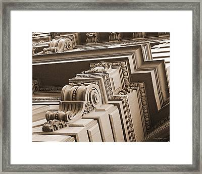 Neo-classical Architecture Framed Print