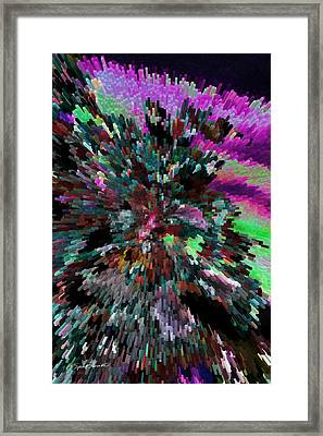Neon Night Framed Print