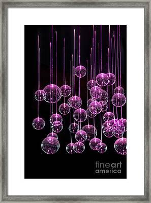 Neon  Nights Framed Print by Evelina Kremsdorf