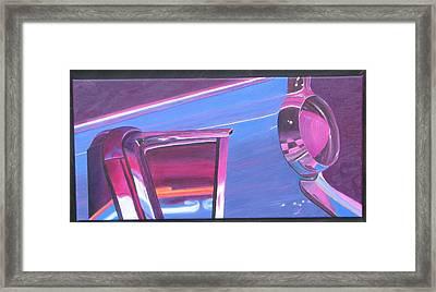 Neon Reflections IIi Framed Print