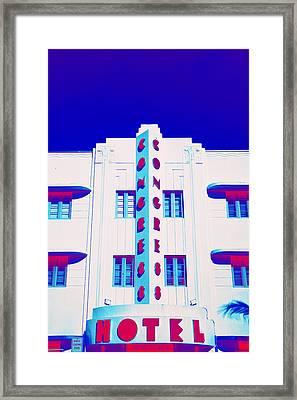 Neon Soul - 22 Framed Print by Michael Guirguis