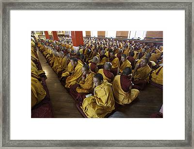 Nepal Prayers Framed Print by David Longstreath