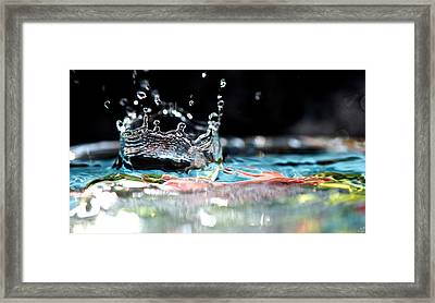 Neptune's Crown Framed Print by Lisa Knechtel