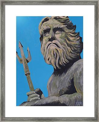 Neptune's Watch Framed Print