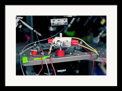 Electrical Stimulation Framed Prints