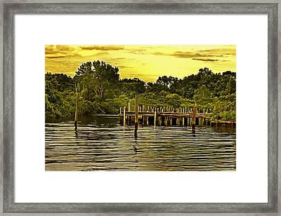 Neshaminy State Park Framed Print by Tom Gari Gallery-Three-Photography