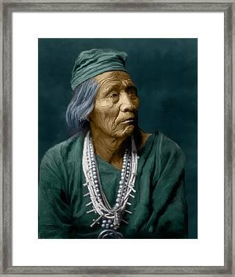 Nesjaja Hatali - Navaho Framed Print by Rick Mosher