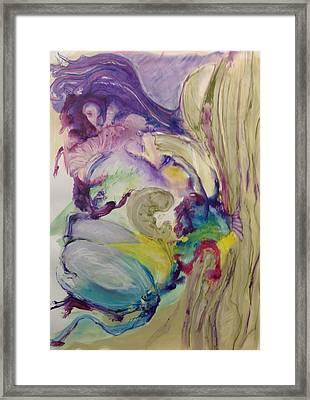 Nesting Framed Print by Barbara Silverman