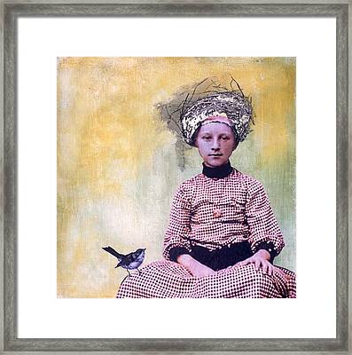 Nesting I Framed Print by Susan McCarrell