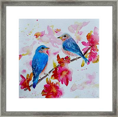 Nesting Pair Framed Print by Beverley Harper Tinsley