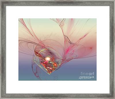 Nestled Framed Print by Leona Arsenault