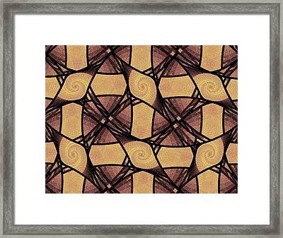 Net Framed Print by Anastasiya Malakhova