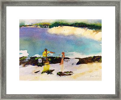 Net Fishing Framed Print