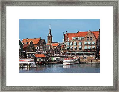 Netherlands, Edam-volendam, View Framed Print by Miva Stock