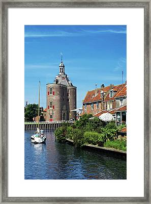 Netherlands, Enkhuizen, Classic Dutch Framed Print by Miva Stock