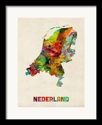 Nederland Framed Prints