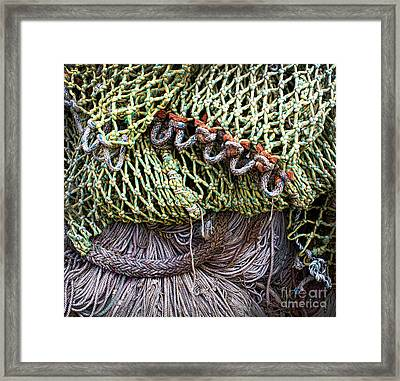 Nets And Knots Number Three Framed Print