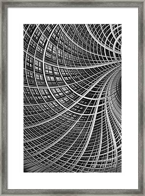 Network II Framed Print by John Edwards
