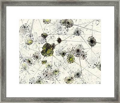 Neural Network Framed Print by Anastasiya Malakhova