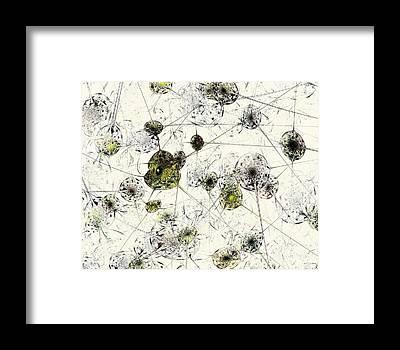Brain Cell Framed Prints