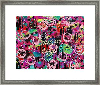 Neuronic The Art Of Meditation Framed Print by Ifeanyi C Oshun