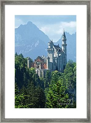 Neuschwanstein Castle 11 Framed Print