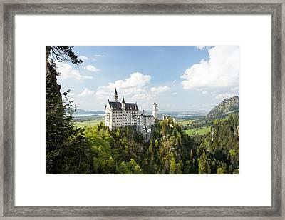 Neuschwanstein Castle Framed Print by Francesco Emanuele Carucci