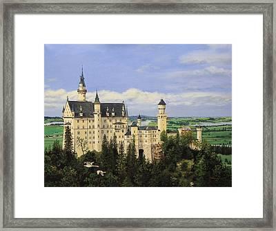 Neuschwanstein Castle Germany Framed Print