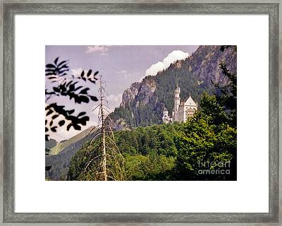 Neuschwanstein Castle Framed Print by Halifax Artist John Malone